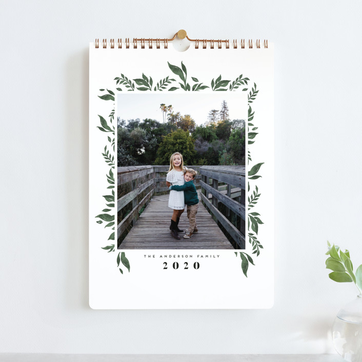 """Nature Border Standard"" - Photo Calendars in Latte by Grae."