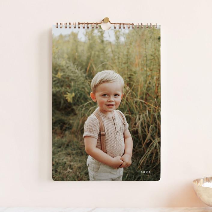 """Wonder Standard"" - Photo Calendars in Cotton by Sara Hicks Malone."