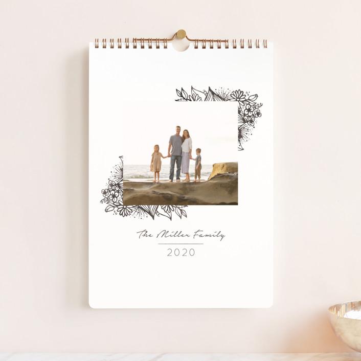 """Indigo Sketch Standard"" - Photo Calendars in Ash by Meridyth Espindola."