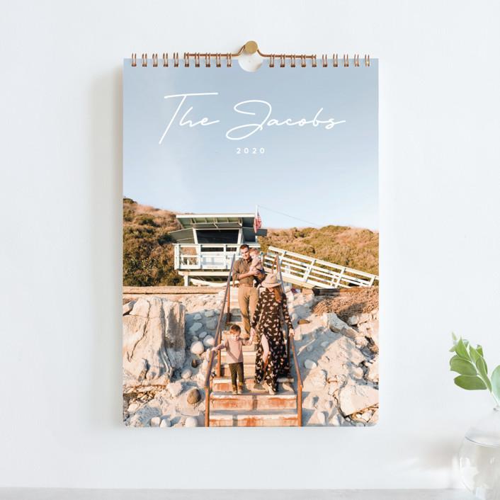 """Simplicity Standard"" - Modern Photo Calendars in Sage by Brandy Folse."
