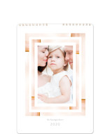 This is a pink photo calendar by Baumbirdy called Aztec Frame Standard printing on premium calendar paper.