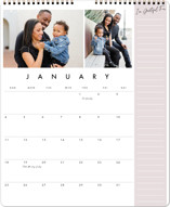 This is a pink photo calendar by Amy Payne called Gratitude Journal printing on premium calendar paper in grand.