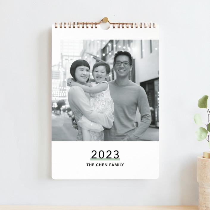 """Sorbet"" - Modern Photo Calendars in Tutti Frutti by Caitlin Considine."