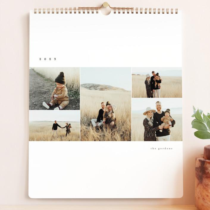 """Simple Display"" - Photo Calendars in Stone by Brianne Larsen."