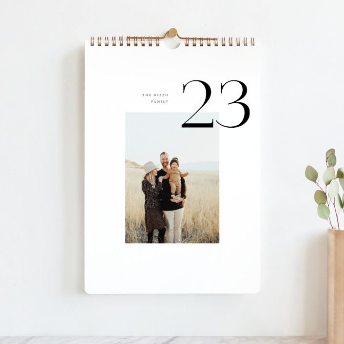 """""""Modern Approach"""" - Photo Calendars in Coal by Pixel and Hank."""