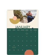 This is a green photo calendar by Alex Roda called Marseille printing on premium calendar paper in standard.