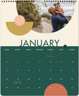 This is a green photo calendar by Alex Roda called Marseille printing on premium calendar paper in grand.
