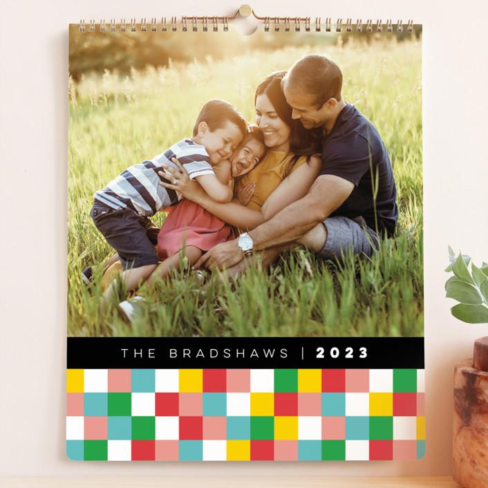 """Color Pop"" - Preppy Photo Calendars in Lemon by fatfatin."