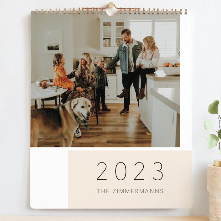 """Simple life"" - Preppy Photo Calendars in Blush by Juliana Zimmermann."