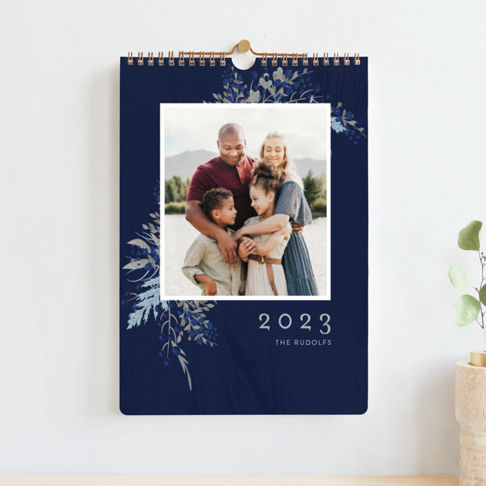 """""""Everything is coming up flowers this year"""" - Photo Calendars in Sapphire Sky by chica design."""