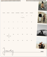 This is a beige photo calendar by Robin Ott called proof printing on premium calendar paper in grand.
