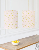 Goldenrod Chandelier Lampshades