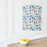 brushed triangles by Sweetgrass Paper Company