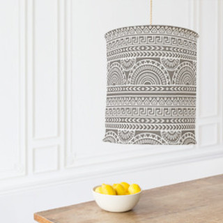 Tribal Mix Chandelier Lampshades