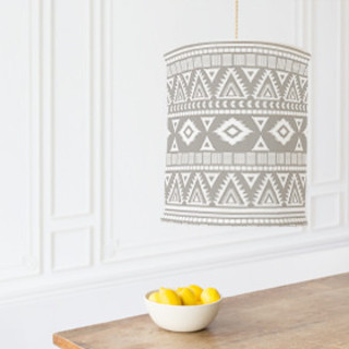 Tribal Chandelier Lampshades