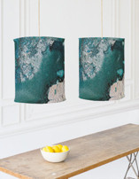 Mystic Lake Chandelier Lampshades