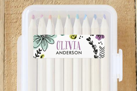 Little Doodles Custom Name Labels