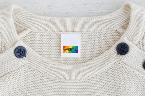 Simple Rainbow Custom Name Labels