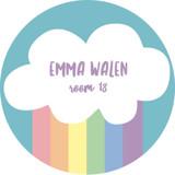 Making Rainbows Custom Name Label