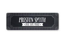 Chalkboard Name