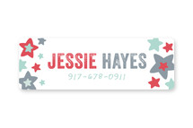 Independence Custom Name Labels
