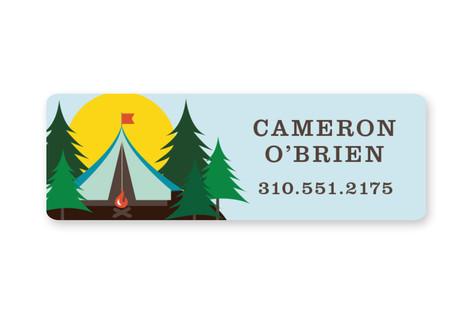 Summer Camp Custom Name Label