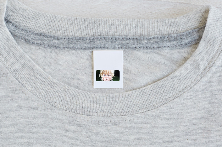 """""""The Big Picture"""" - Custom Name Labels in Ivory by Minted."""