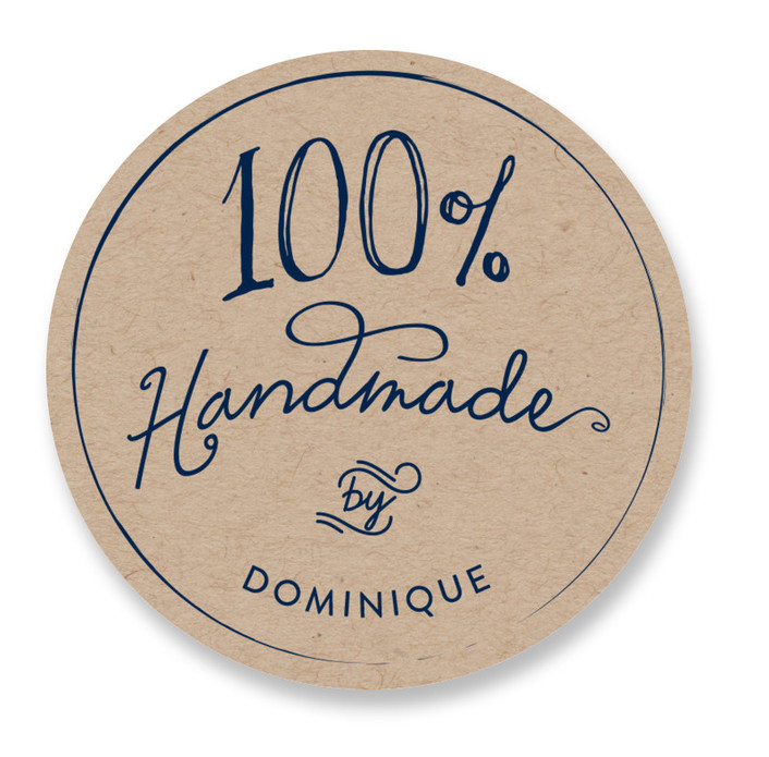 100% Handmade Custom Stickers
