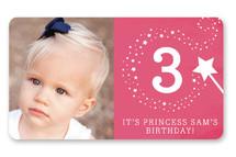 Little Miss Magic Custom Stickers