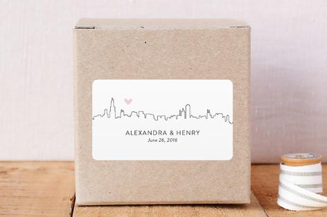 Love In The Big City Custom Stickers