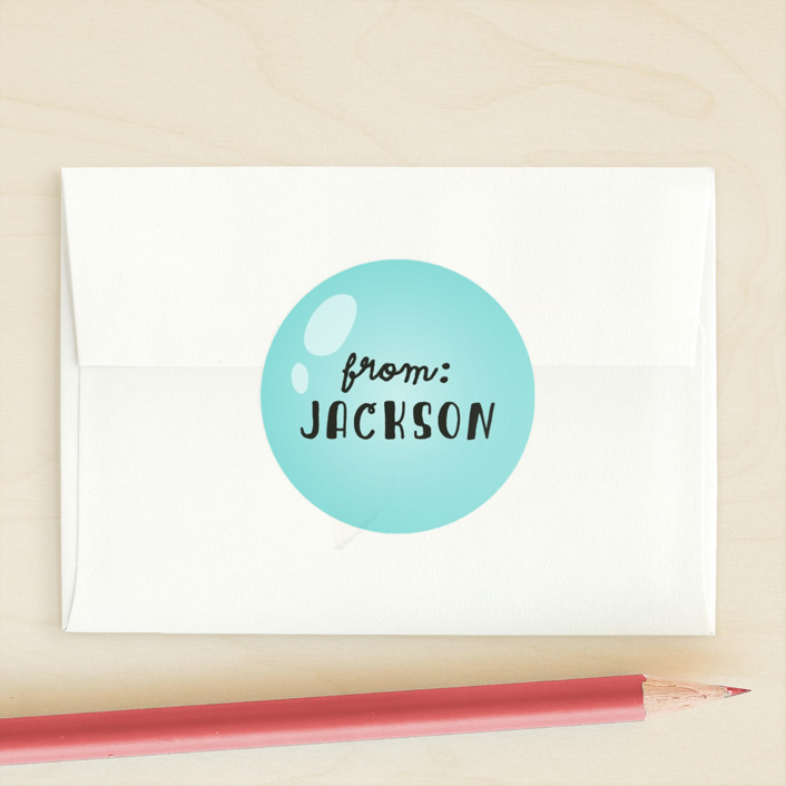 """Quack me up"" - Custom Stickers in Lemon by Anne Holmquist."