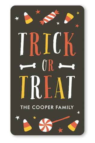 Sweetest Halloween Custom Stickers