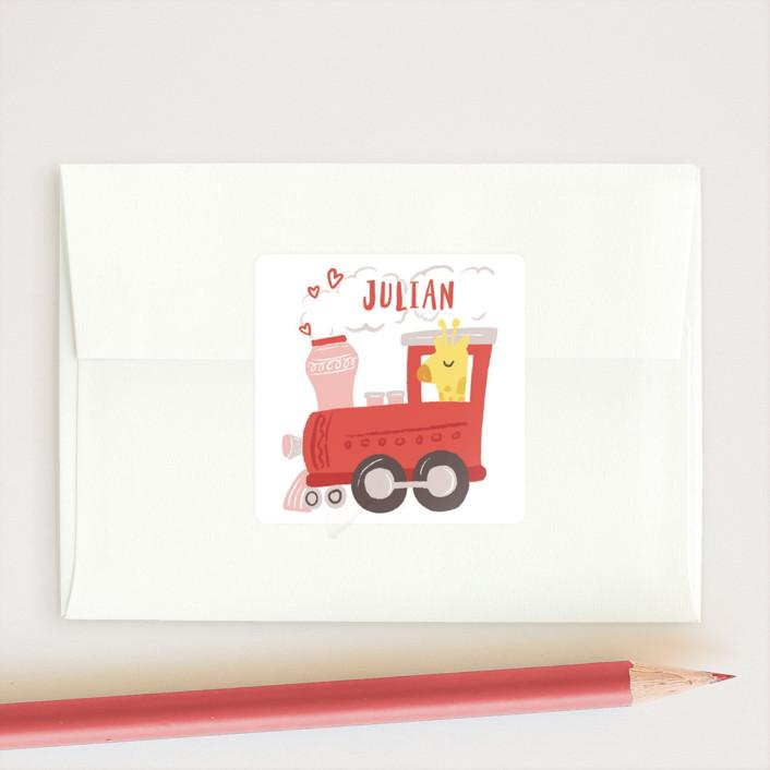 """bernina"" - Custom Stickers in Cherry by chocomocacino."