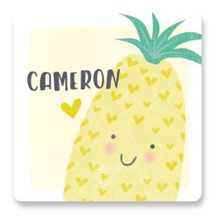 Pineapple Of My Eye Custom Stickers