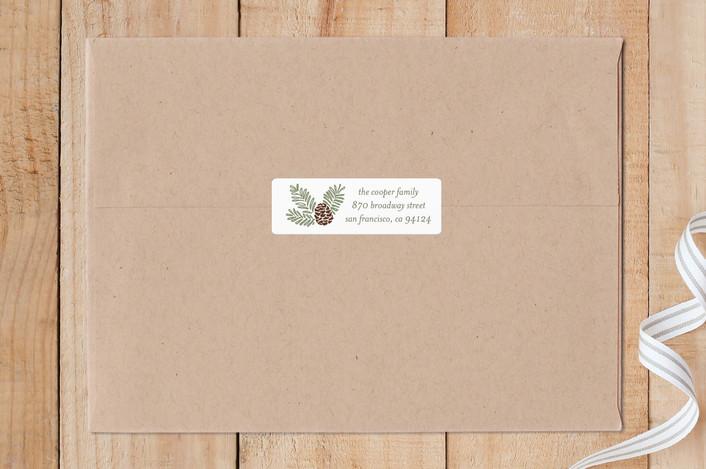 """Pine Frame"" - Custom Stickers in Moss by Liz Conley."