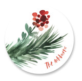 Evergreen Holiday by GeekInk Design