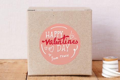 Valentine's Day Custom Stickers