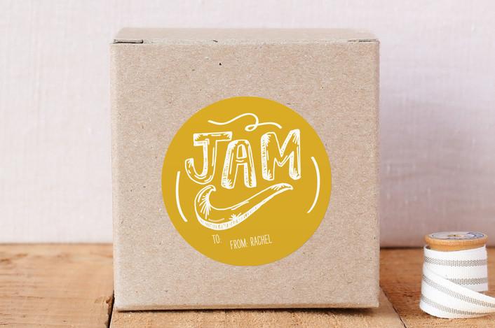 """""""Jam"""" - Custom Stickers in Lemon by KirstenEva."""