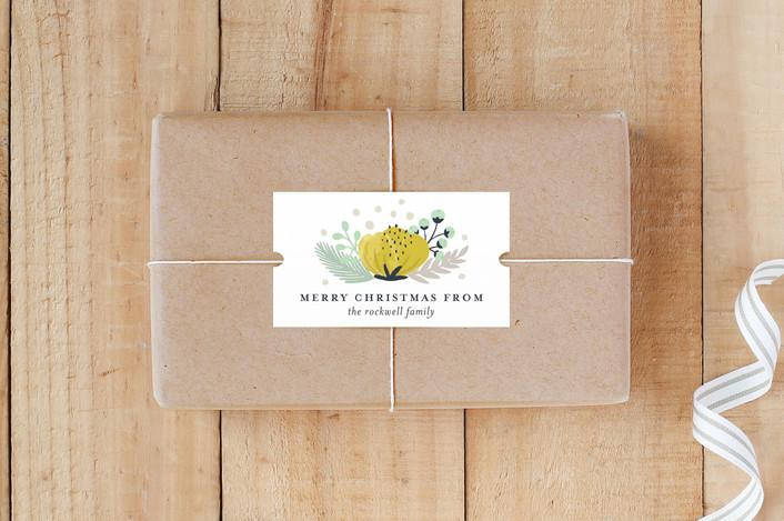 """""""Botanical"""" - Custom Stickers in Daffodil by Beth Schneider."""