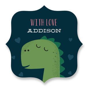 Heart-A-Saur Custom Stickers