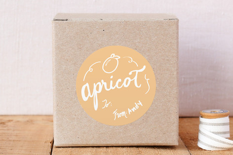 Apricot Custom Stickers