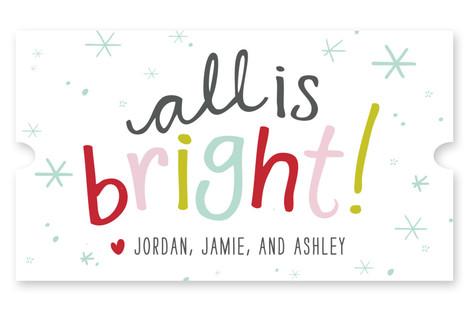 All is Bright Custom Stickers