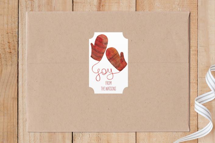 """Joy"" - Custom Stickers in Holly by Alexandra Dzh."