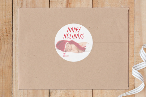 Merry Overlay Custom Stickers