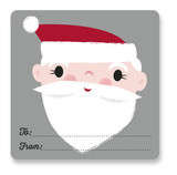 Santa Gift Tag by Shannon Hays