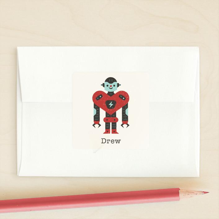 """UR-GR8"" - Custom Stickers in Raindrop by Bob Daly."