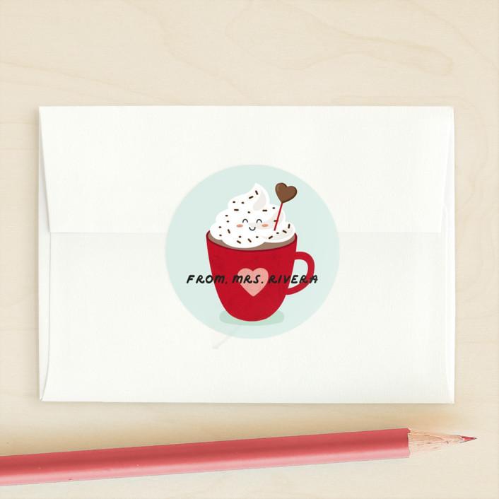 """Smart as a Whip"" - Custom Stickers in Mint Cookie by Erica Krystek."