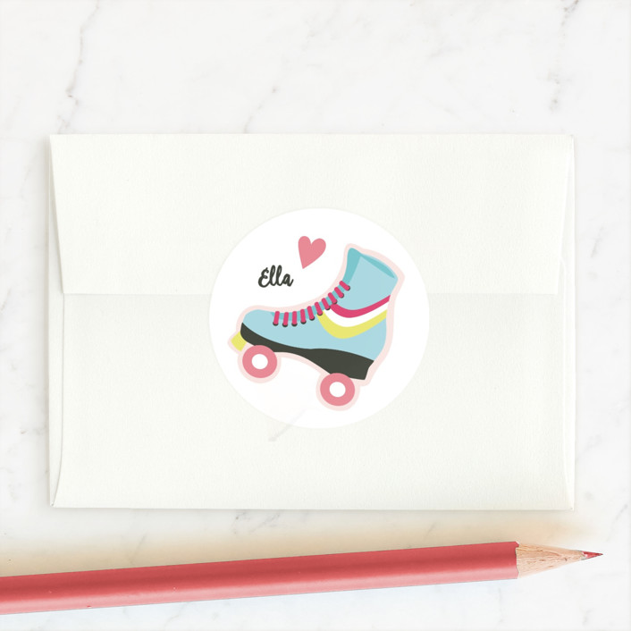 """""""Friends Forever"""" - Custom Stickers in Blush by peetie design."""