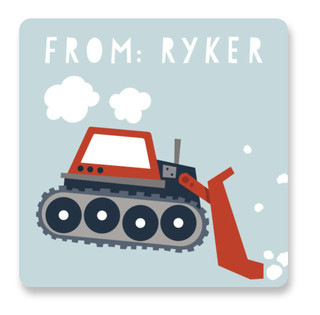 Bulldozer Custom Stickers