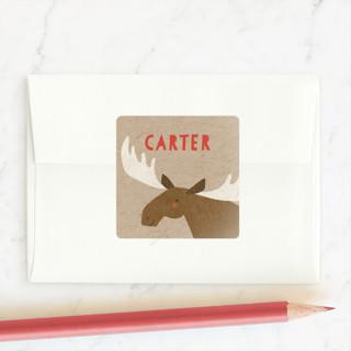 sweet moose Custom Stickers